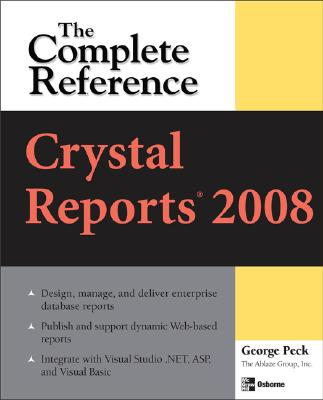 Crystal Reports 2008 By Peck, George