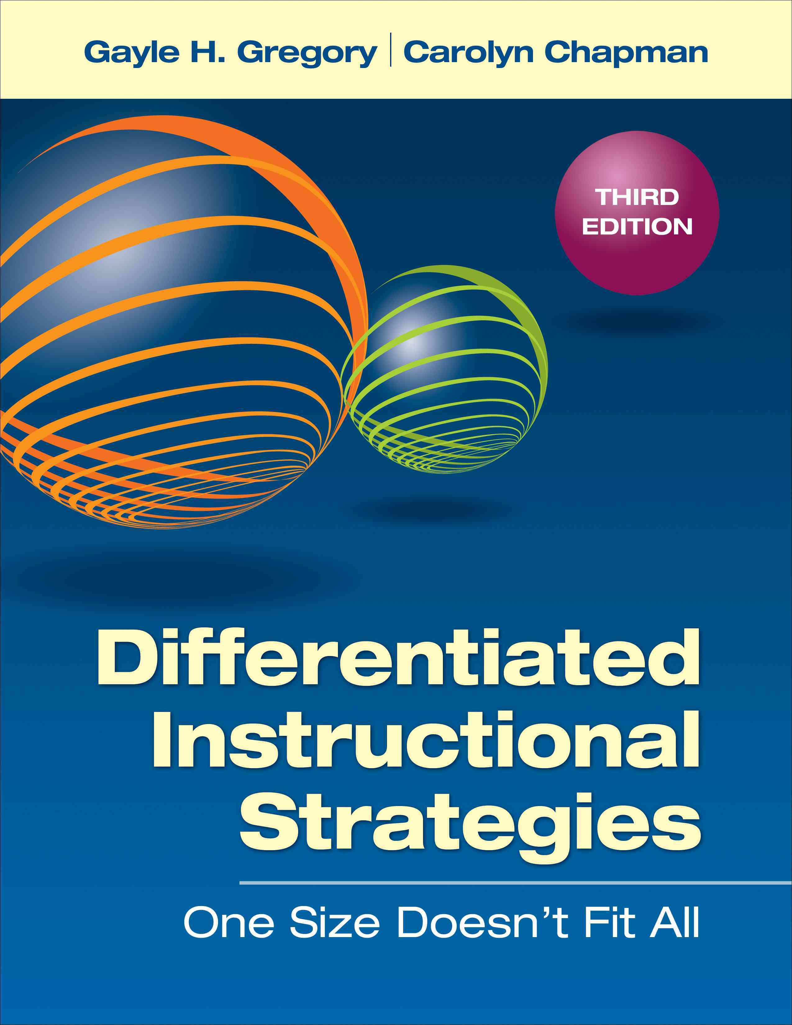 Differentiated Instructional Strategies By Gregory, Gayle H./ Chapman, Carolyn M.